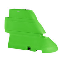 PolyJohn RB1-1004G Green Male Rhino Barrier End Segment