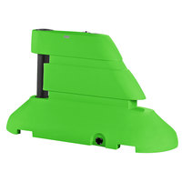 PolyJohn RB1-1003G Green Female Rhino Barrier End Segment