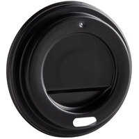Choice 4 oz. Black Hot Paper Cup Travel Lid - 1000/Case