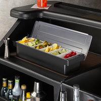 Tablecraft 102 6-Compartment Condiment Bar
