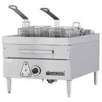 Garland E24-31SF 30 lb. Countertop Electric Super Deep Fryer - 240V, 3 Phase, 16 kW