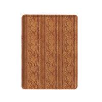 Cambro 1418D309 14 inch x 18 inch Java Teak Wood-Look Dietary Tray - 12/Case