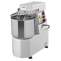 Avancini 22 lb. Heavy Duty Single Speed Spiral Dough Mixer - 220V, 1 Phase