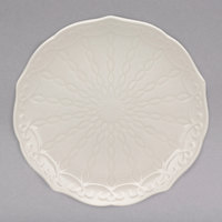 10 Strawberry Street EVER-0005 Ever 6 inch White New Bone China Bread and Butter Plate - 36/Case