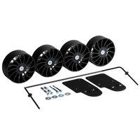Rubbermaid 2067693 Compact Housekeeping Cart Bumper Kit