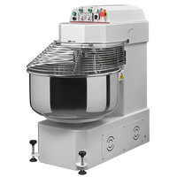 Avancini 176 lb. Heavy Duty Two Speed Spiral Dough Mixer - 208V, 3 Phase