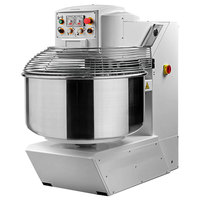 Avancini 132 lb. Heavy Duty Two Speed Spiral Dough Mixer - 208V, 3 Phase