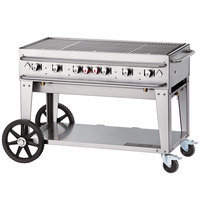 Crown Verity RCB-48-SI-LP 48 inch Outdoor Rental Grill with Single Gas Connection