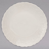 10 Strawberry Street VTNA-0001 Valentina 11 inch White New Bone China Dinner Plate - 12/Case