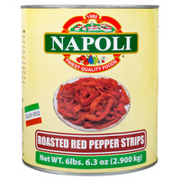 Assagio Classico Foods #10 Can Fire Roasted Red Pepper Strips