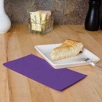 Hoffmaster 180539 Purple 15 inch x 17 inch 2-Ply Paper Dinner Napkin - 1000/Case