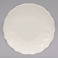 10 Strawberry Street VTNA-0005 Valentina 6 inch White New Bone China Bread and Butter Plate - 36/Case