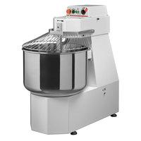 Avancini 66 lb. Heavy Duty Single Speed Spiral Dough Mixer - 220V, 1 Phase