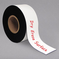 MasterVision BVCFM2218 3 inch x 50' Dry Erase Magnetic Tape Roll