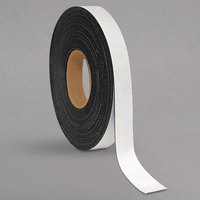 MasterVision BVCFM2018 1 inch x 50' White Magnetic Dry Erase Tape Roll