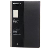Moleskine PROPADLBK 8 1/2 inch x 11 inch Black Professional Ruled Notepad