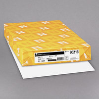 Neenah 80213 Exact 11 inch x 17 inch White 67# Vellum Paper Cover Stock - 250/Sheets