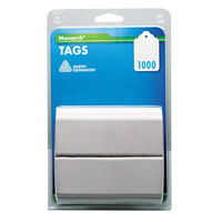 Monarch 925047 1 1/2 inch x 1 1/4 inch White Refill Tag - 1000/Pack