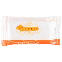 Tulip .4 oz. Hotel and Motel Wrapped Bath / Facial Soap Bar - 1000/Case