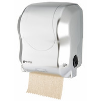 San Jamar T7470SS Simplicity Essence Summit Stainless Steel Look Hands Free Paper Towel Dispenser