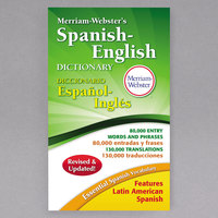 Merriam-Webster 824 Paperback 928 Page Spanish-English Dictionary