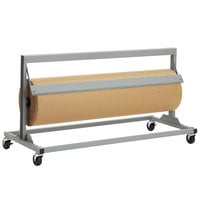 Bulman R67-36 36 inch Jumbo Mover Paper Cutter with Serrated Blade