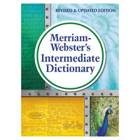 Merriam-Webster 6978 Hardcover 1024 Page Grades 6 - 8 Intermediate English Dictionary
