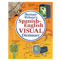 Merriam-Webster 2925 Paperback 1152 Page Spanish-English Visual Dictionary