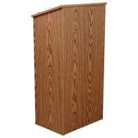 Oklahoma Sound 222MO Medium Oak Finish Full Floor Host Stand
