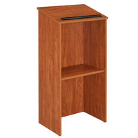 Oklahoma Sound 222CH Wild Cherry Finish Full Floor Host Stand