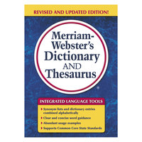 Merriam-Webster 7326 Paperback 992 Page English Dictionary / Thesaurus