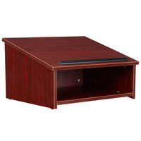 Oklahoma Sound 22MY Mahogany Finish Tabletop Host Stand