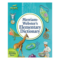 Merriam-Webster 6763 Hardcover 848 Page Grades 3 - 5 Elementary English Dictionary
