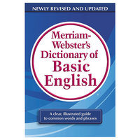 Merriam-Webster 7319 Paperback 800 Page Basic English Dictionary