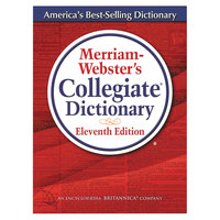 Merriam-Webster 8095 Hardcover 1664 Page 11th Edition Collegiate English Dictionary