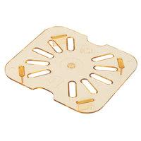 Carlisle 3089613 StorPlus 1/6 Size Amber High Heat Drain Tray