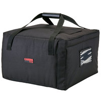 Cambro GBPP518110 Insulated Black Premium Pizza Delivery GoBag™ - Holds up to (5) 18 inch Pizza Boxes