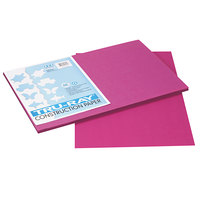 Pacon 103032 Tru-Ray 12 inch x 18 inch Magenta Smooth Finish 76# Construction Paper - 50/Pack