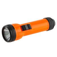 6 1/2 inch Orange Luminescent Flashlight
