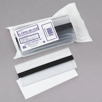 Panter Company PCM212 6 inch x 2 1/2 inch Clear All-Purpose Magnetic Label Holders   - 10/Pack