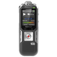 Philips DVT6010 Voice Tracer Gray / Silver 8 GB Digital Recorder