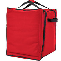 Cambro GBPP1018521 Insulated Red Premium Pizza Delivery GoBag™ - Holds up to (10) 18 inch Pizza Boxes