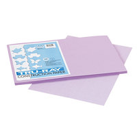 Pacon 103050 Tru-Ray 12 inch x 18 inch Lilac Smooth Finish 76# Construction Paper - 50/Pack