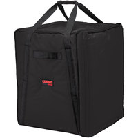 Cambro GBP1018110 Insulated Black Pizza Delivery GoBag™ - Holds up to (10) 18 inch Pizza Boxes