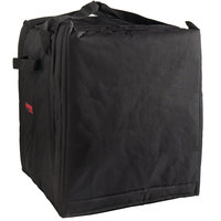 Cambro GBP1018110 Customizable Insulated Black Pizza Delivery GoBag™ - Holds up to (10) 18 inch Pizza Boxes