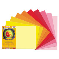 Pacon 102948 12 inch x 18 inch Assorted Color Smooth Finish 76# Construction Paper - 25/Pack