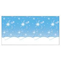 Pacon 56385 48 inch x 50' Wintertime Scene Bulletin Board Paper