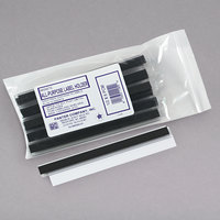 Panter Company PCM12 6 inch x 1/2 inch Clear All-Purpose Magnetic Label Holders   - 10/Pack