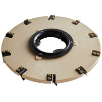 Minuteman 172920-9 20 inch Polymer Brush Disc Mastic Tool for E20 Automatic Scrubber - 25 Grit