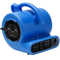 B-Air VP-25 Vent Blue 3-Speed Compact Air Mover - 1/4 hp